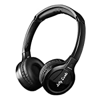 Wireless TV Headphones, Jelly Comb Wireless Optical TV Headphones Over-Ear Stereo Headphones Headset Earphone with Transmitter for TV Watching, Support Optical, 3.5mm AUX, RCA Audio Out, Low Latency