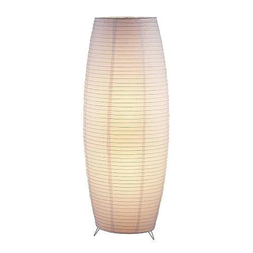 Rice paper floor lamp amazon adesso 6135 02 suki 51 floor lantern white smart outlet compatible aloadofball Images