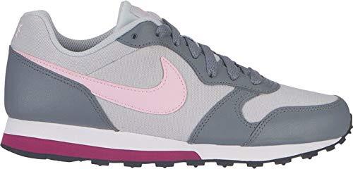 Nike 017 2 Scarpe gs Runner pink Corsa pure Md cool Foam Grey Bambina Platinum Da Multicolore rqwZxErp