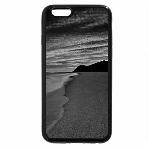 iPhone 6S Case, iPhone 6 Case (Black & White) - Beautiful Sunset