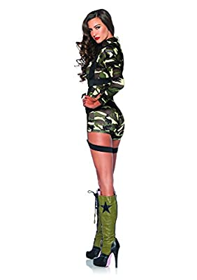 Leg Avenue Women's 2 Piece Goin' Commando