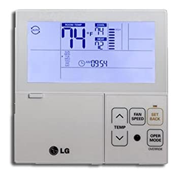Lg Premtb10u Thermostat Multi V Wired 7 Day Programmable