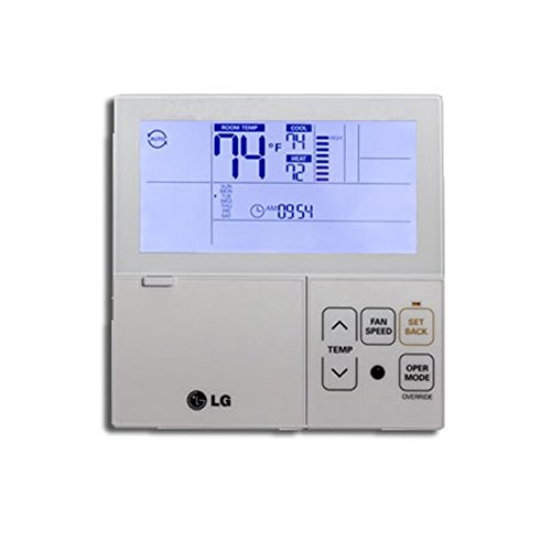 LG PREMTB10U Thermostat, Multi-V Wired 7-Day Programmable - White