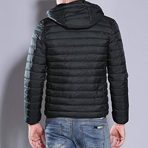 Giacca Tappi All'acqua Verde Cerniera Resistenti Uomo Invernale Jacket Outwear Giacche Top Uomo Piumino green Trench Cappotto Da Slim Camicetta Zolimx 6UwqPtv