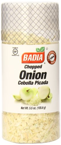 Badia Onion Chopped, 5.5 Ounce (Pack of 12) by Badia