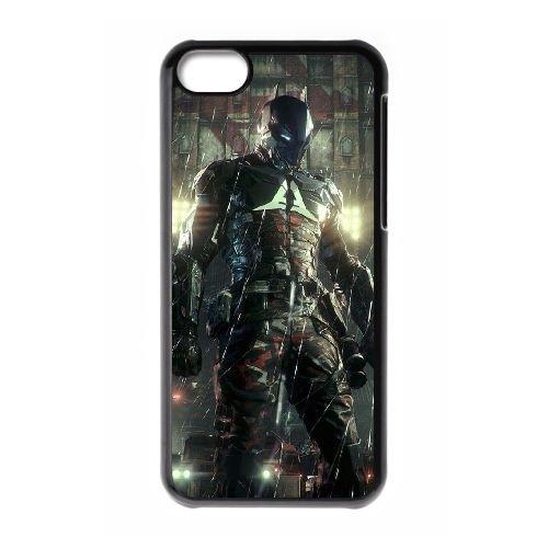 Batman coque iPhone 5C Housse téléphone Noir de couverture de cas coque EBDOBCKCO09985