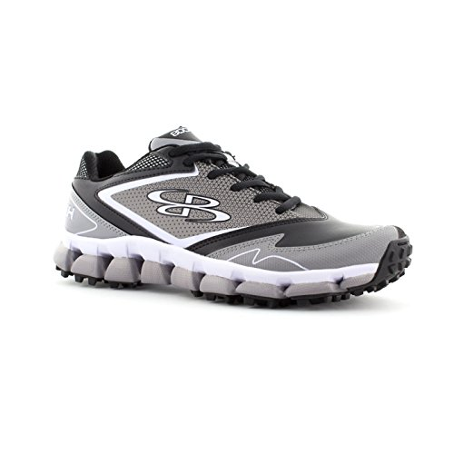 Boombah Womens A-Game Turf Shoes - 5 Color Options - Multiple Sizes Black/Gray G0ukExWfDJ