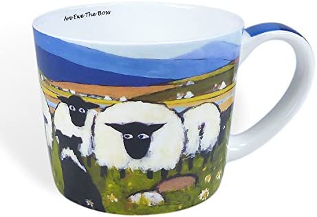 Thomas Joseph Nag Nag Nag Single Mug Bone China Sheep Drink Coffee Gift Boxed