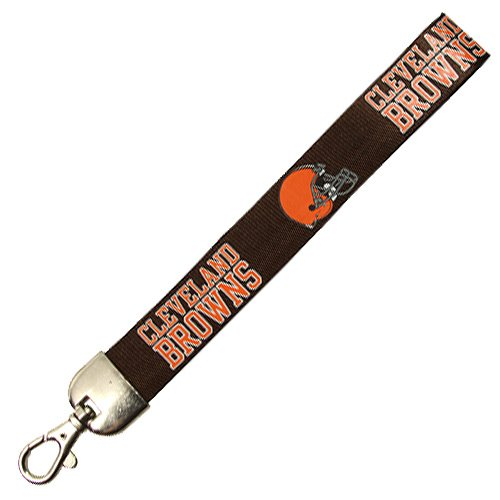- Pro Specialties Group NFL Cleveland Browns Wristlet Lanyard, Brown, One Size