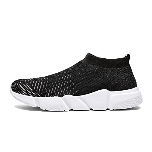 Running 1 Men's Shoes Walking On Sneakers Lightweight Athletic Women's Black Shoes Breathable Slip w YALOX Casual Fashion wqZ17w