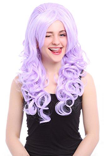 (Nuoqi Lady's Wavy Style Long Purple Countess Cosplay)