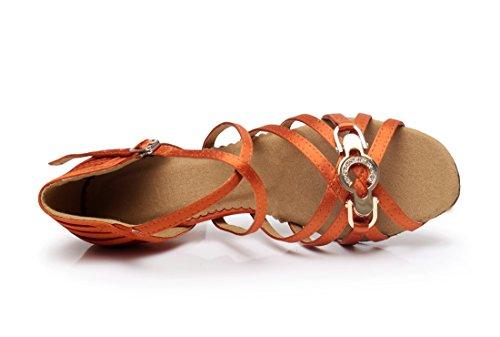 MGM Joymod Arancione 7 Orange Heel Moderno 35 5cm e Donna Jazz xBWPnfHxrU