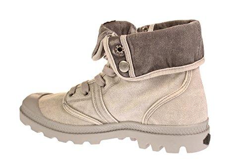 Palladium US Baggy, Sneaker a Collo Alto Unisex – Adulto grigio