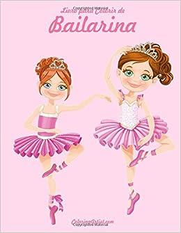 Livro Para Colorir De Bailarina 1 9781532933967 Livros