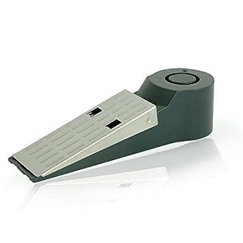 tiiwee TWDS01 - Fermaporta antifurto con sirena d'allarme, batteria inclusa, elettronico, 120db, protezione antintrusione, sicurezza casa