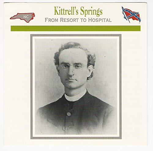 1995 Atlas, Civil War Cards, 117.19 Kittrell's Springs, Rev. -