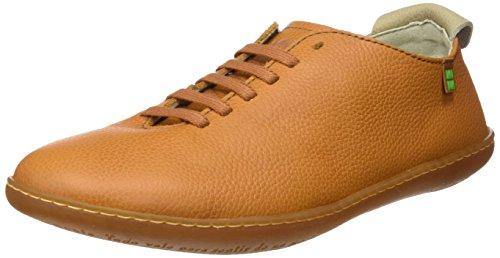 El Naturalista N296 Soft Grain El Viajero, Zapatos de Cordones Derby Unisex Adulto Naranja (Carrot)