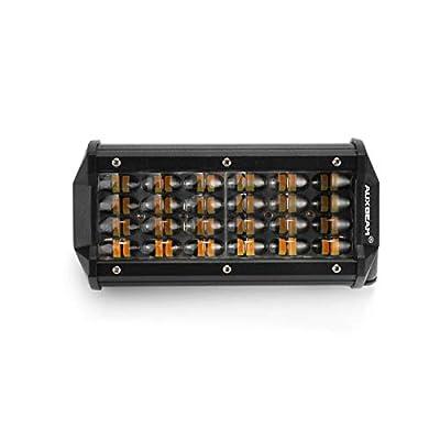7 Inch LED Light Bar Spot Beam Light Pods Driving Lights Fog Lights Work Lights Amber Quad Row Lighting for Jeep Off Road Truck ATV UTV SUV Wrangler Boat Marine: Automotive