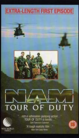 Amazon Com Tour Of Duty Vhs Terence Knox Stephen Caffrey Tony