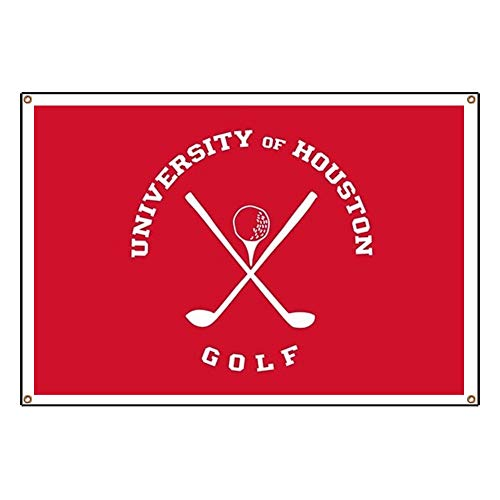 (CafePress University of Houston Golf Vinyl Banner, 44