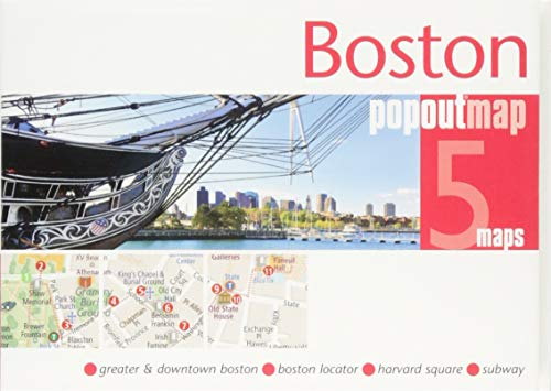 Boston PopOut Map (PopOut Maps)...
