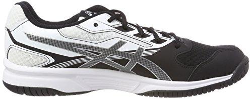 9093 Upcourt Damen Schuhe Indoor 2 Silber Schwarz Asics Multisport Schwarz Weiß aPnxAav5