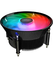 Cooler Master A71C Addressable RGB CPU Air Cooler for AMD Ryzen w/Anodized Black Aluminum Fins, Copper Insert Base, MF120 120mm ARGB Fan, AMD Ryzen