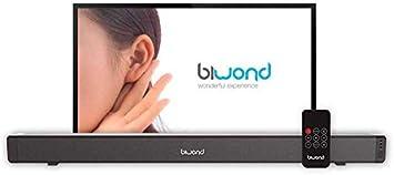 Barra de Sonido TV JoyBox SoundBar Potencia 28W sonido Extra Bass ...