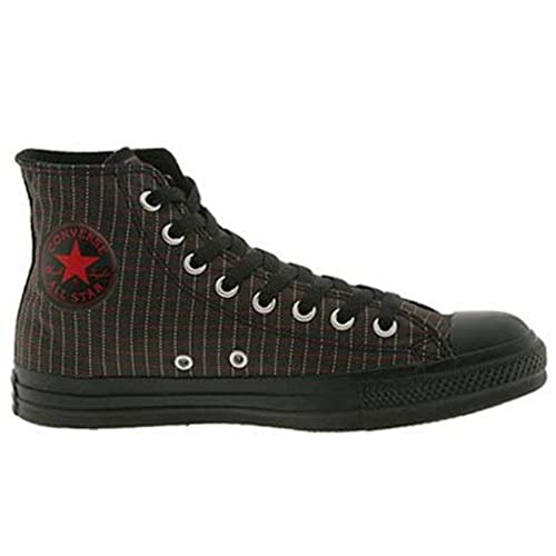 f3eea9e48e303e Converse Chuck Taylor All Star Hi Top Pinstripe Black Chilipepper White good