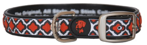 "All Style, No Stink Dog Collar, Sultan, Small 11"" x 14"""