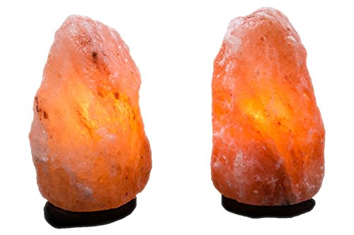 set-of-2-natural-himalayan-salt-lamp-hand-carved-with-elegant-wood-base-includes-bulbs-5-7-inches-4-