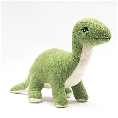 ZevenMart Dinosaur Plush Toy Kids Educational Sleeping Appease Doll Birthday Gift (Green Giant And Sprout Costumes)