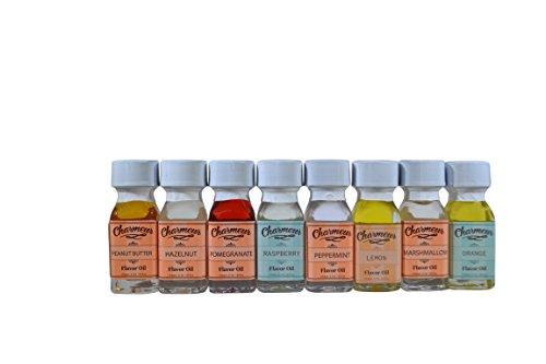 Charmeur Premium Gourmet Candy Oils (8) ()