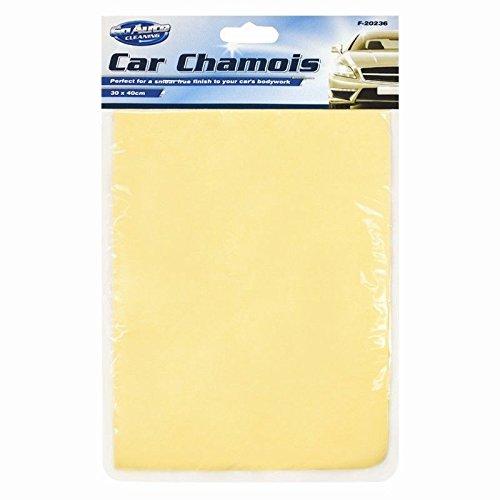 Go Auto Car Chamois Cloth, Car Motorbike Cleaner, 30CM X 40CM F-20236