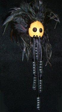 Hawaiian Warrior Helmet (Hawaiian All Black Ikaika Warrior Helmet)