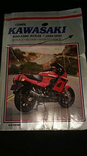 Kawasaki 900-1100 Ninja 1984-1993 (Clymer Motorcycle Repair Manuals)