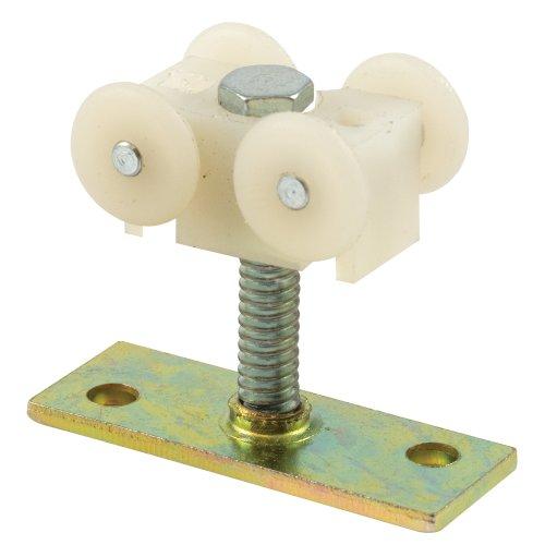 Stud Nylon (Slide-Co 16559 Folding Shutter Door Top Roller, 1-1/4-Inch Stud, 17/32-Inch Nylon)