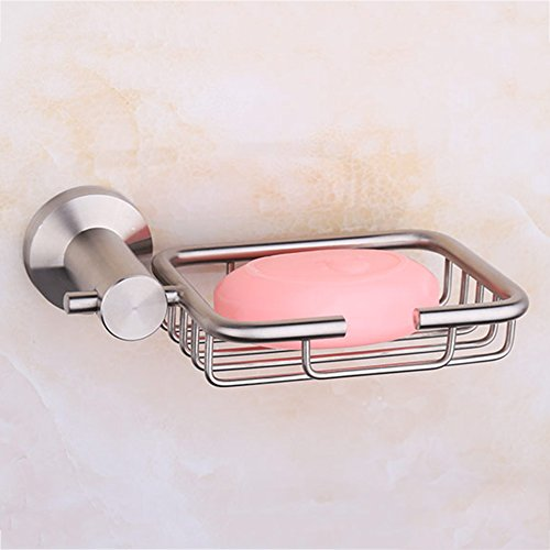 80%OFF WENZHE Over toilet Bathroom Shelf Rack Washroom Shower Wall Mounted Corner Soap Holder Net Box Stainless Steel, 125 95mm storage organizer (Color : 2 pieces)