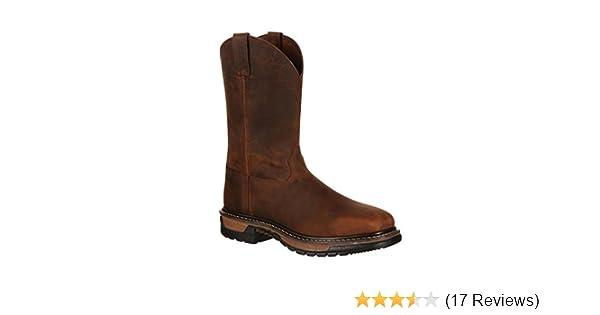 95d093b24e4 Rocky Men's Original Ride Steel Toe Western Work Boot