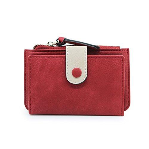 carte simple de en pour main Sac pour main Porte cuir personnalité en CLOTHES en jolie multifonctionnel sac sac monnaie à dames la en coréen à à Bleu Rouge Couleur en main Sac Version poignet de sac ABvqFZnw