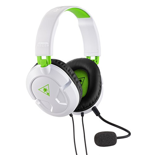 (Turtle Beach - Recon 50X White Stereo Gaming Headset - PS4 - Xbox One)