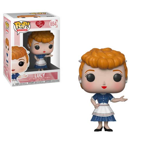 Funko Pop! Tv: I Love Lucy - Lucy Collectible Figure, Multicolor