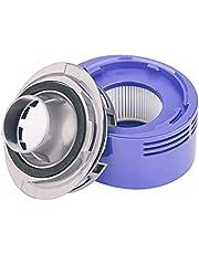 Motor Rear Cover Fit for Dyson V7 V8 Vacuum Cleaner (1 Cover + 1 filter)