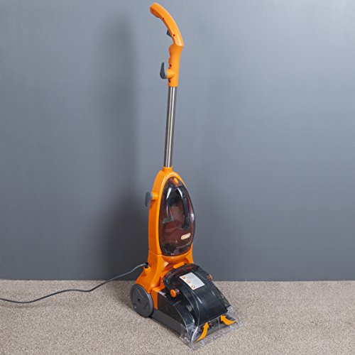-[ Vax VRS5W Rapide Spring Carpet Washer, Cleaning Width 25 cm, 500 W - Orange  ]-