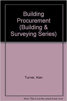 Building Procurement (Building & Surveying)