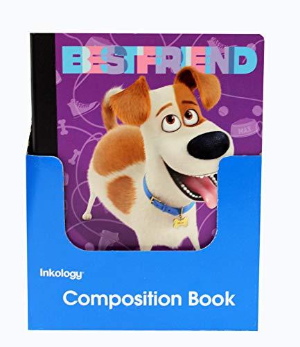Secret Life of Pets Composition Book, 9.75