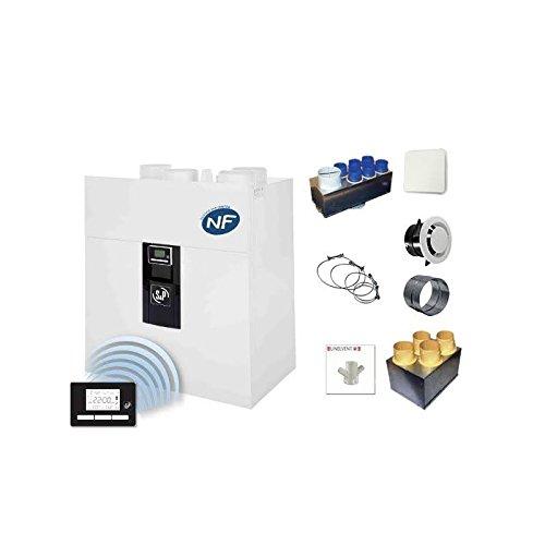 Kit de ventilación mecánica de doble flujo