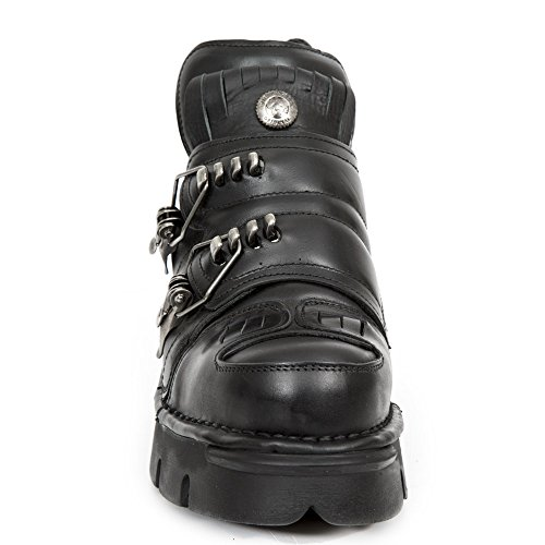 Size 211 S1 Metallic New Black Ready Stock Leather M Rock Women 42 Men WOnRP