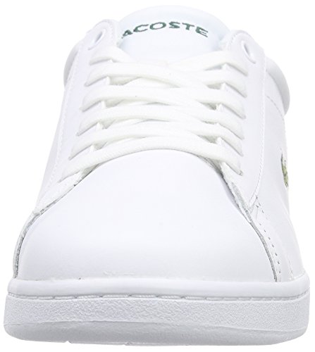 d1d43486e755 Lacoste Carnaby Evo Lcr Spm Herre Sneakers Weiß (wht 001) Q1zEFO ...