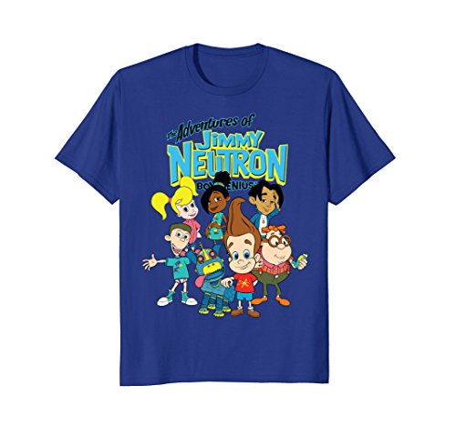 Nickelodeon The Adventures Of Jimmy Neutron Characters (The Adventures Of Jimmy Neutron Boy Genius Characters)